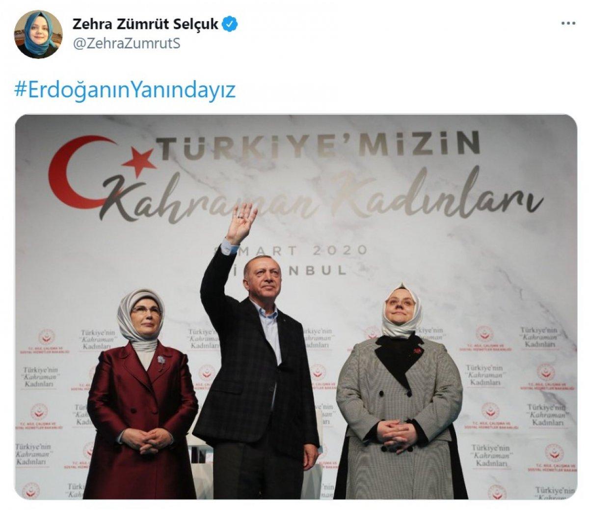 Cumhurbaşkanı Erdoğan a destek tweet leri 2 milyonu aştı #8