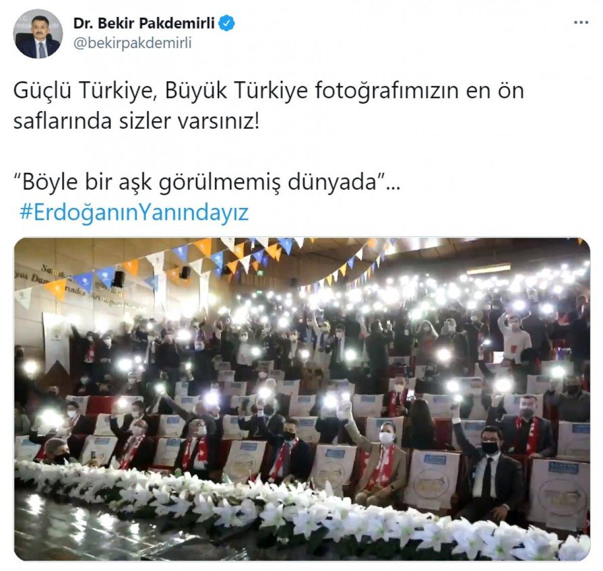Cumhurbaşkanı Erdoğan a destek tweet leri 2 milyonu aştı #14