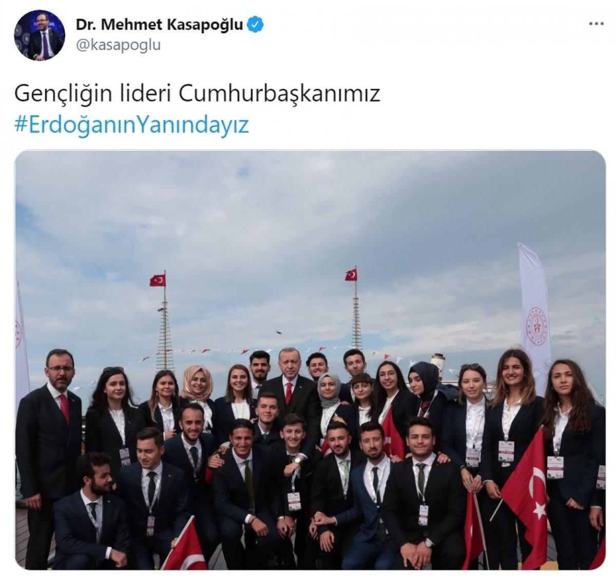 Cumhurbaşkanı Erdoğan a destek tweet leri 2 milyonu aştı #11