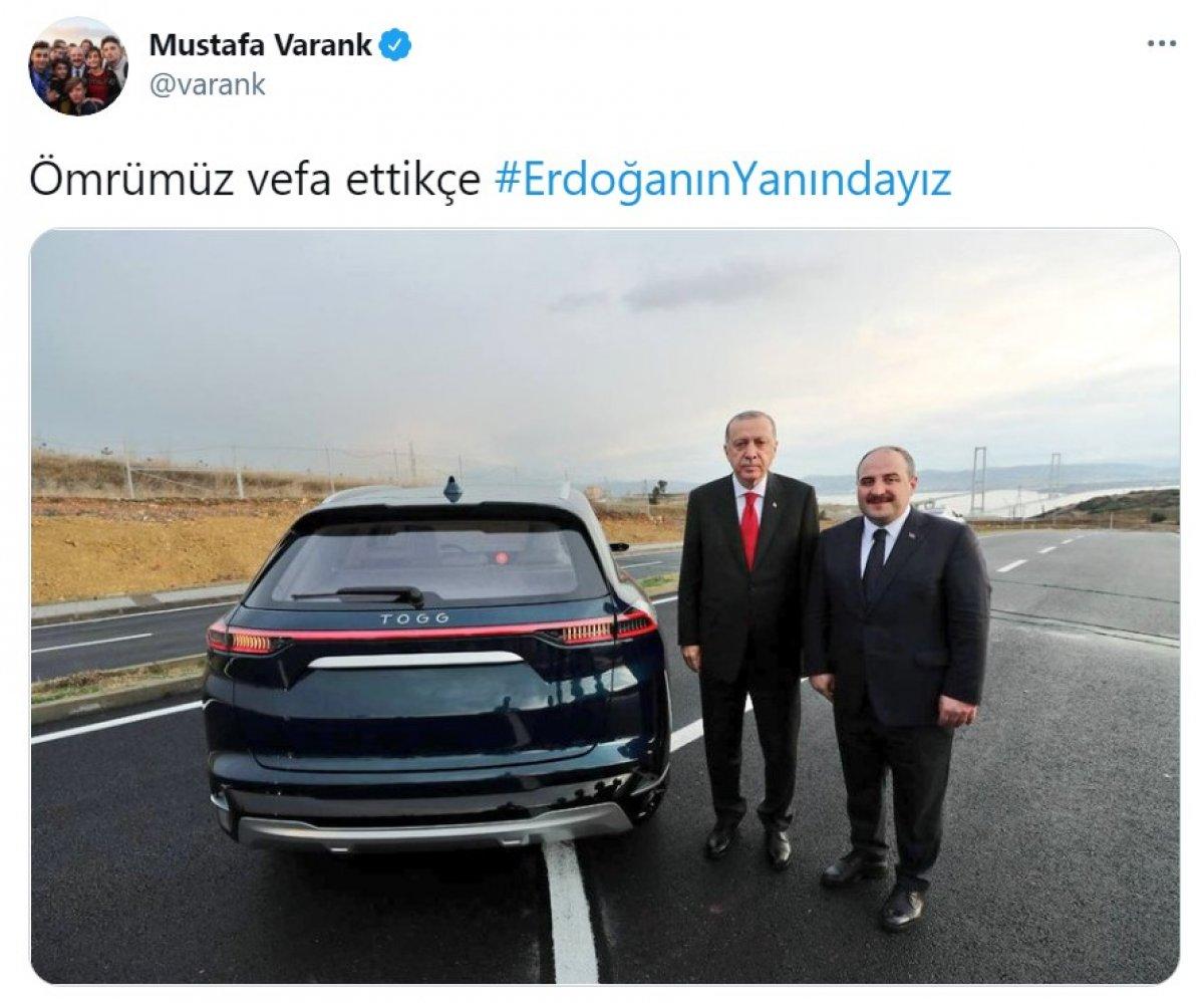 Cumhurbaşkanı Erdoğan a destek tweet leri 2 milyonu aştı #4