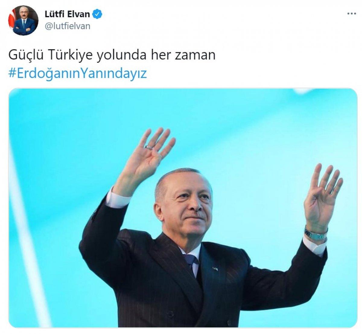 Cumhurbaşkanı Erdoğan a destek tweet leri 2 milyonu aştı #3
