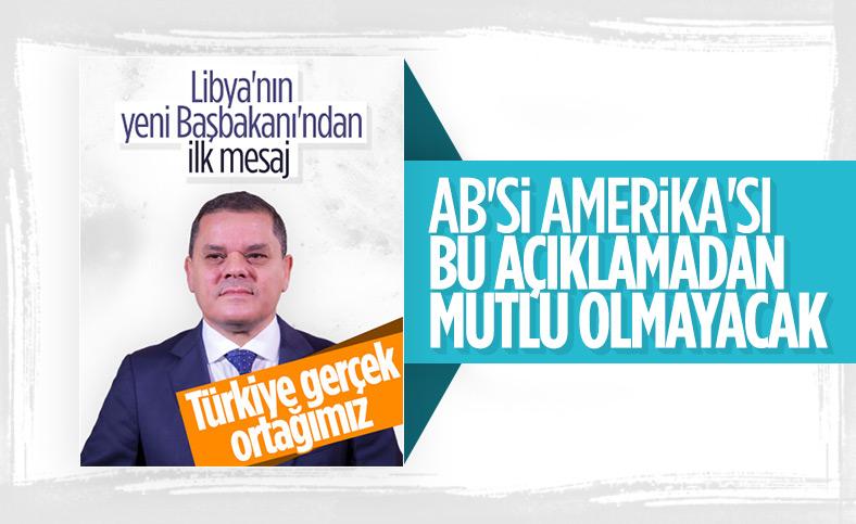 Libya'nın yeni Başbakanı'ndan Türkiye'ye mesaj ile ilgili görsel sonucu