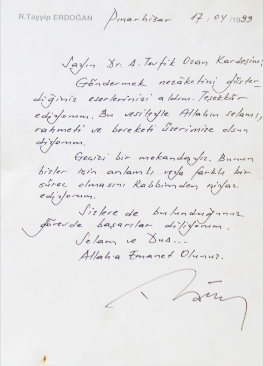 erdogan mektup 9118