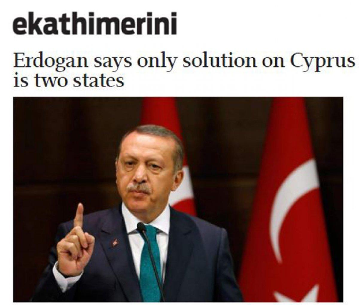 Cumhurbaşkanı Erdoğan ın Kiryakos Miçotakis le ilgili sözleri Yunan basınında #3
