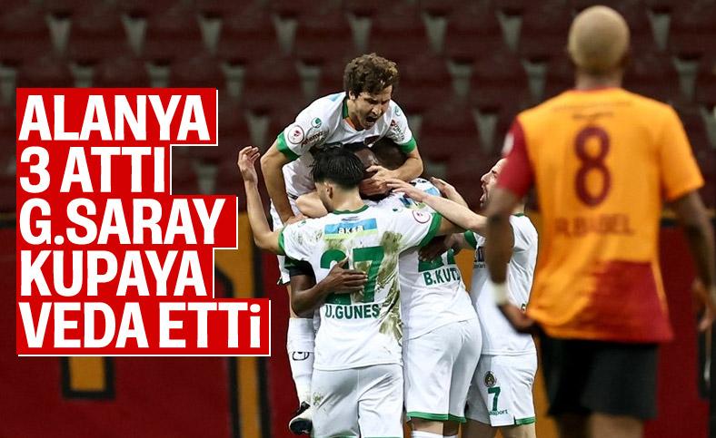 Alanyaspor Türkiye Kupası'nda Galatasaray'ı eledi