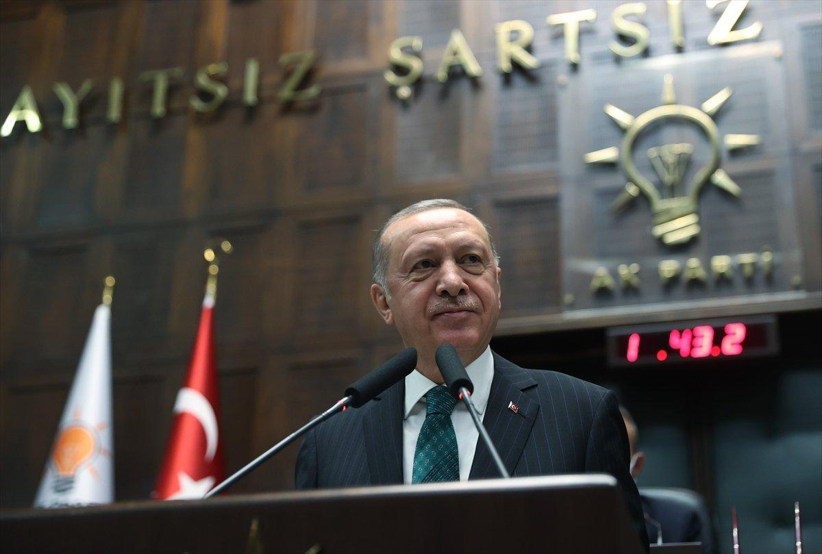 Cumhurbaşkanı Erdoğan dan partilere yeni anayasa çağrısı #2