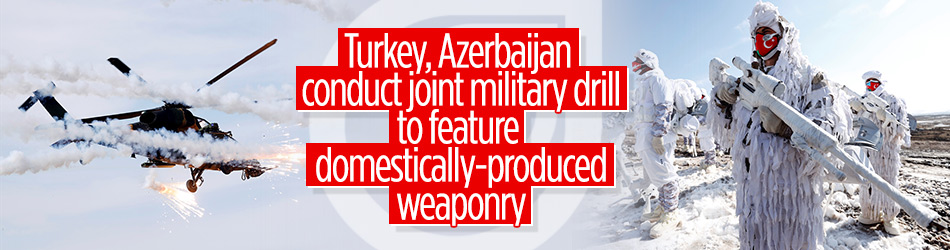 Turkey, Azerbaijan conduct joint winter military exercises