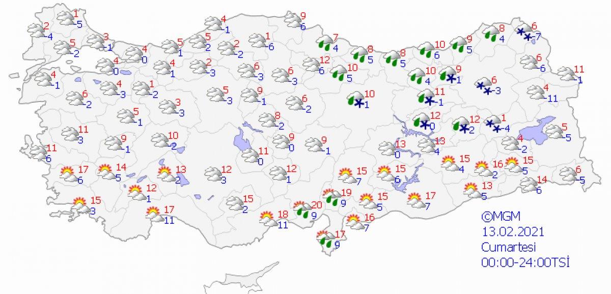 İstanbul a kar geliyor: Havalar 20 derece birden düşecek #4