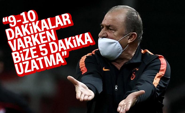 Fatih Terim: Abdulkadir Bitigen'in lehimize penaltı vermesini beklemiyoruz