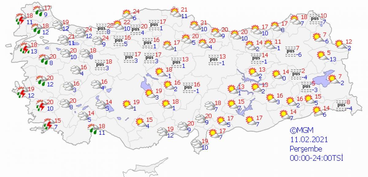İstanbul a kar geliyor: Havalar 20 derece birden düşecek #2