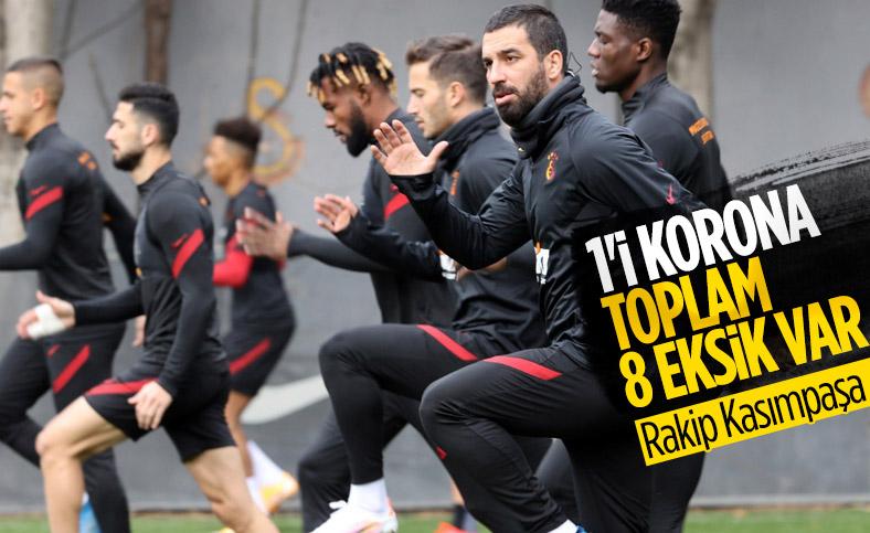 Galatasaray'da 8 isim Kasımpaşa maçında yok