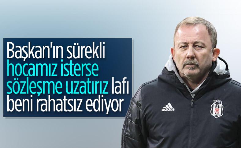 Sergen Yalçın'dan Ahmet Nur Çebi'ye sözleşme eleştirisi