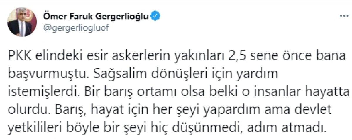 HDP den PKK' nın sivillere yaptığı alçak saldırı sonrası ilk açıklama #1