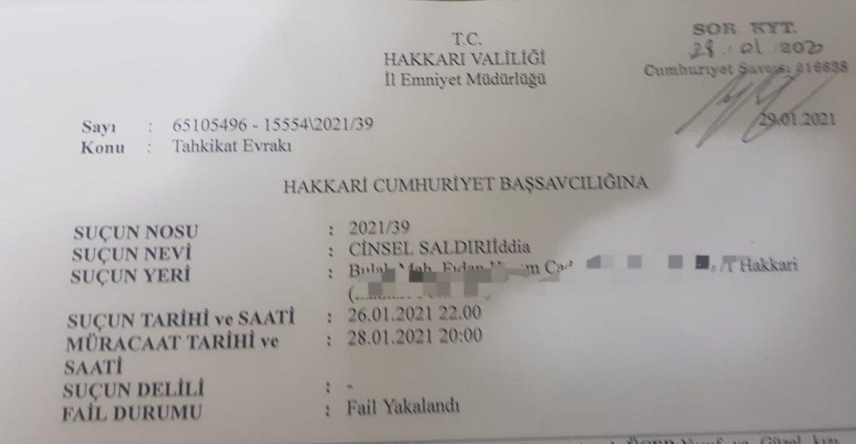 hakkari tecavuz 9828