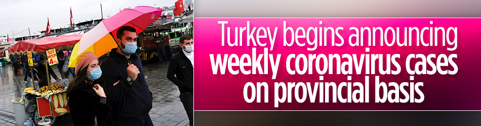 Turkey starts to announce weekly coronavirus cases