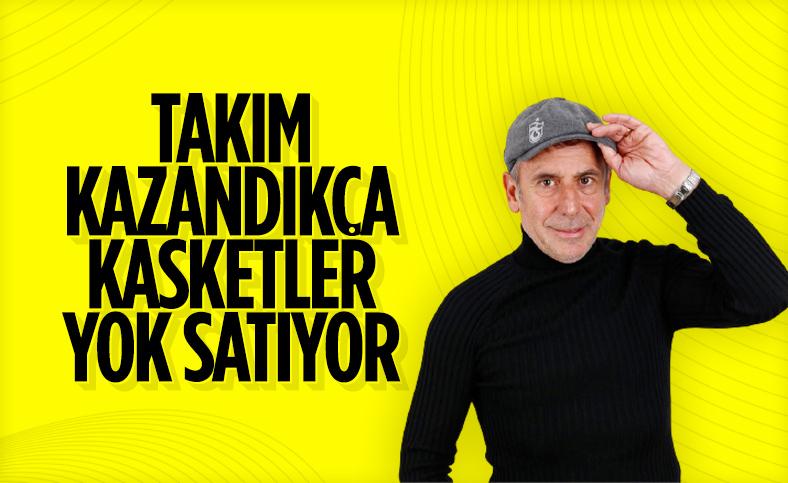 Trabzonspor'da kasket satışları iyi gidiyor