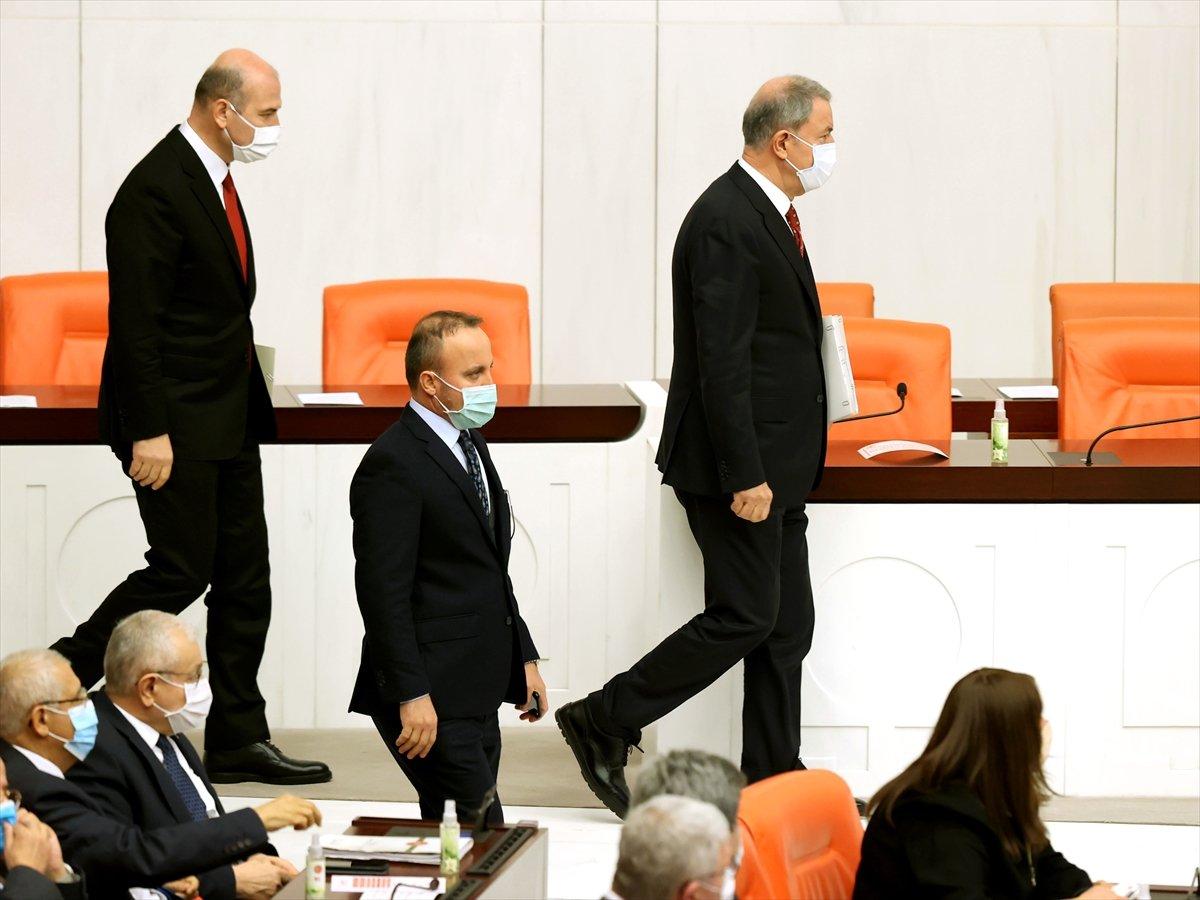 Hulusi Akar, Meclis te Gara bilgilendirmesi yaptı #4