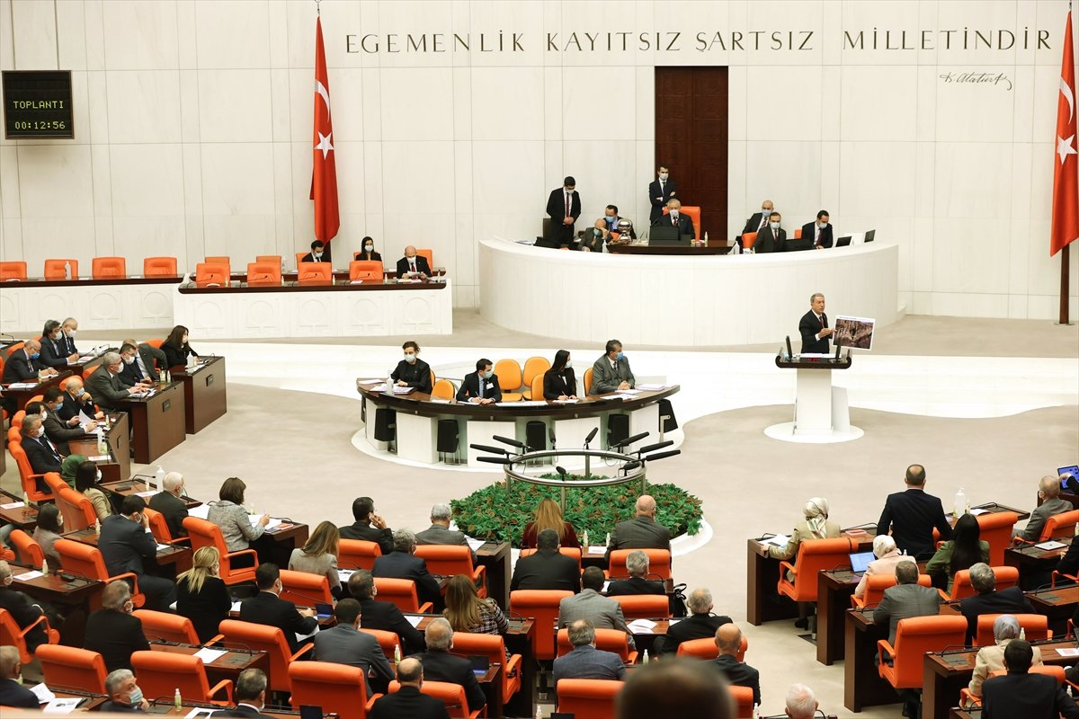 Hulusi Akar, Meclis te Gara bilgilendirmesi yaptı #2