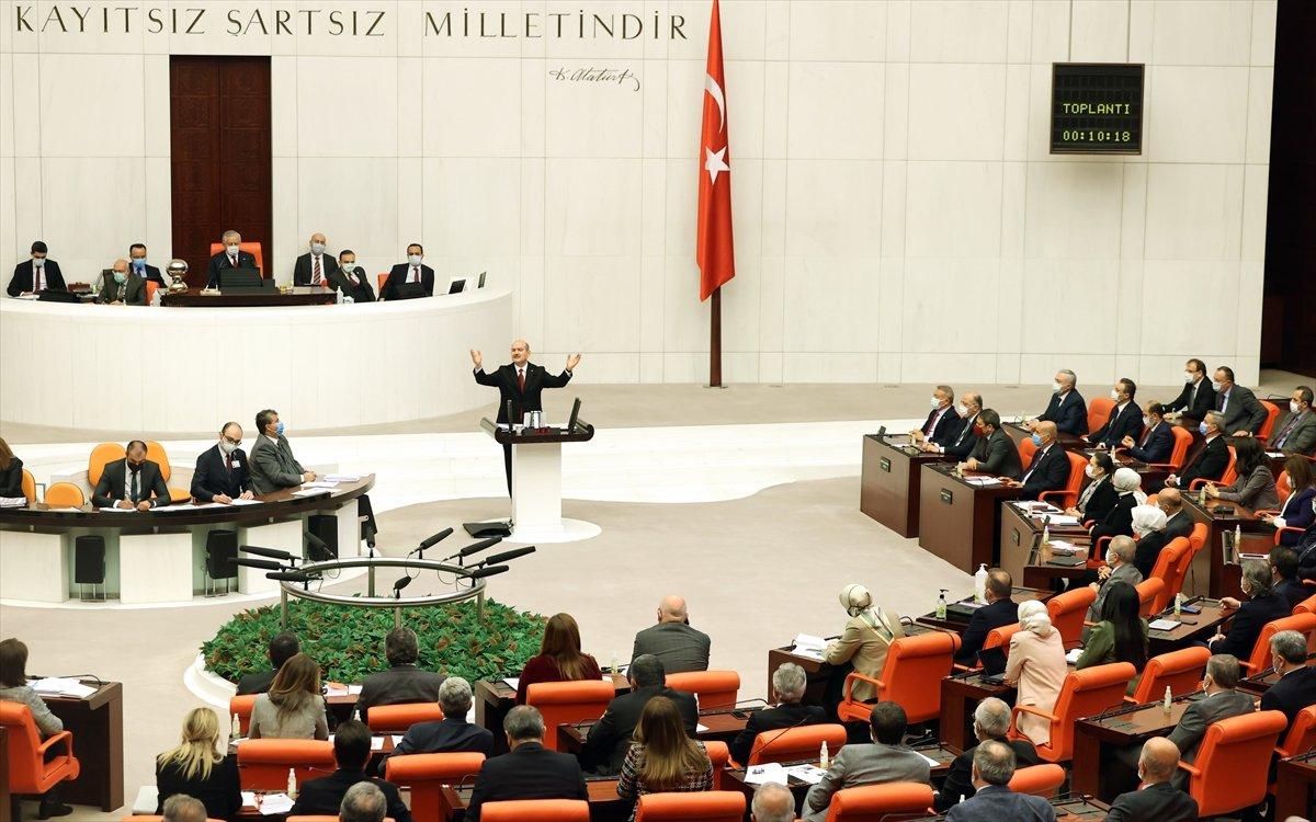 Süleyman Soylu dan Meclis te Gara bilgilendirmesi #3