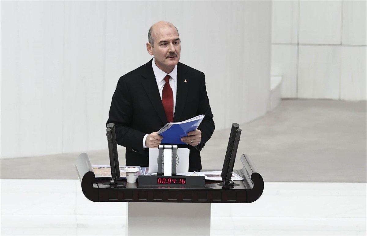 Süleyman Soylu dan Meclis te Gara bilgilendirmesi #4