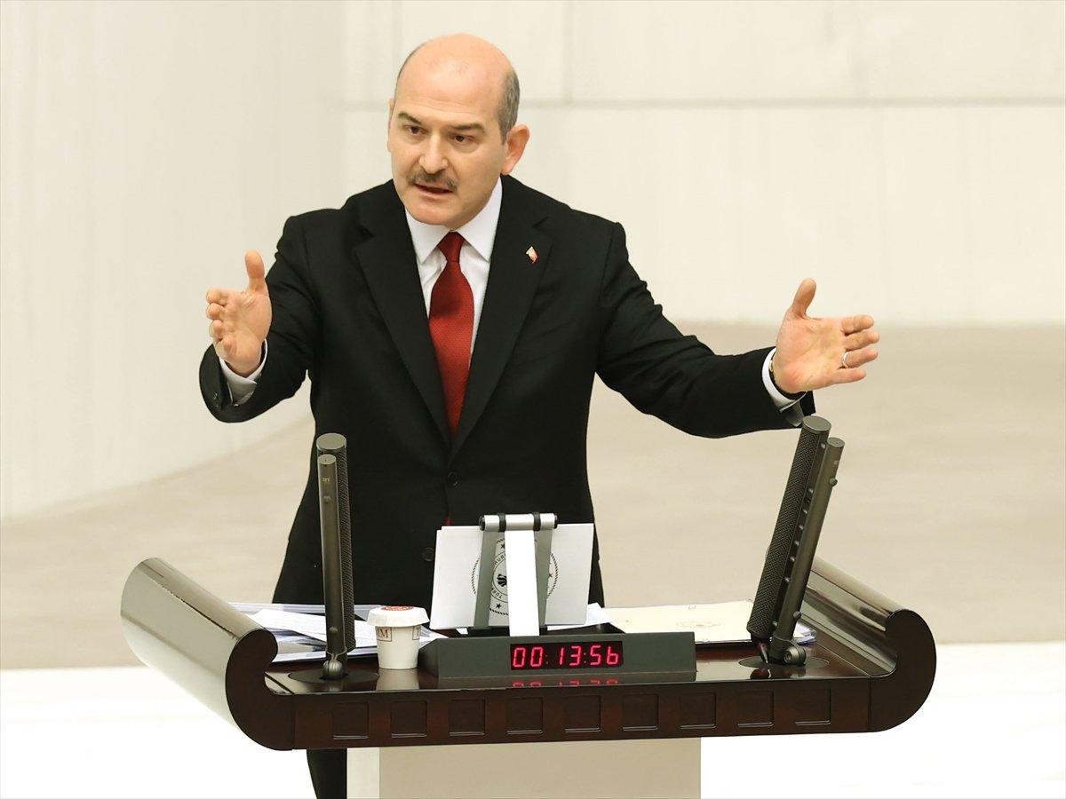 Süleyman Soylu dan Meclis te Gara bilgilendirmesi #2