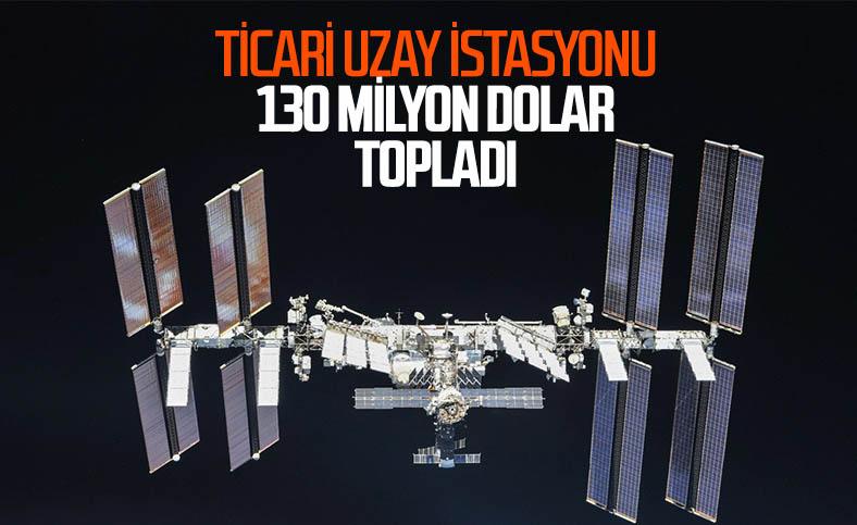 Axiom Space, ticari uzay istasyonu için 130 milyon dolar topladı