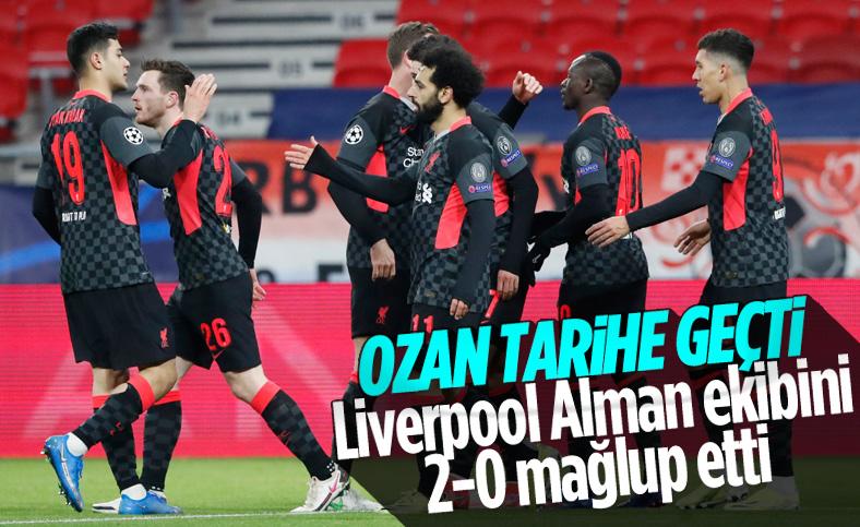 Liverpool, Leipzig'i 2 golle geçti
