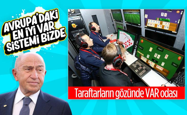 Nihat Özdemir: Avrupa'nın en iyi VAR sistemine sahibiz