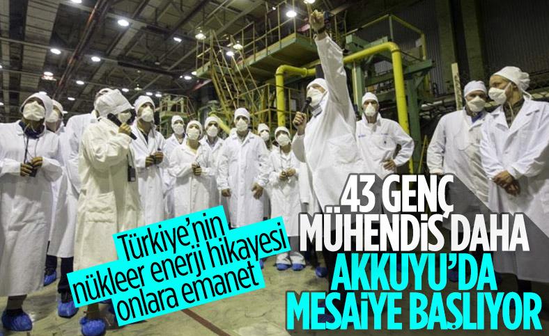 43 genç daha nükleer mühendislik eğitimini tamamladı