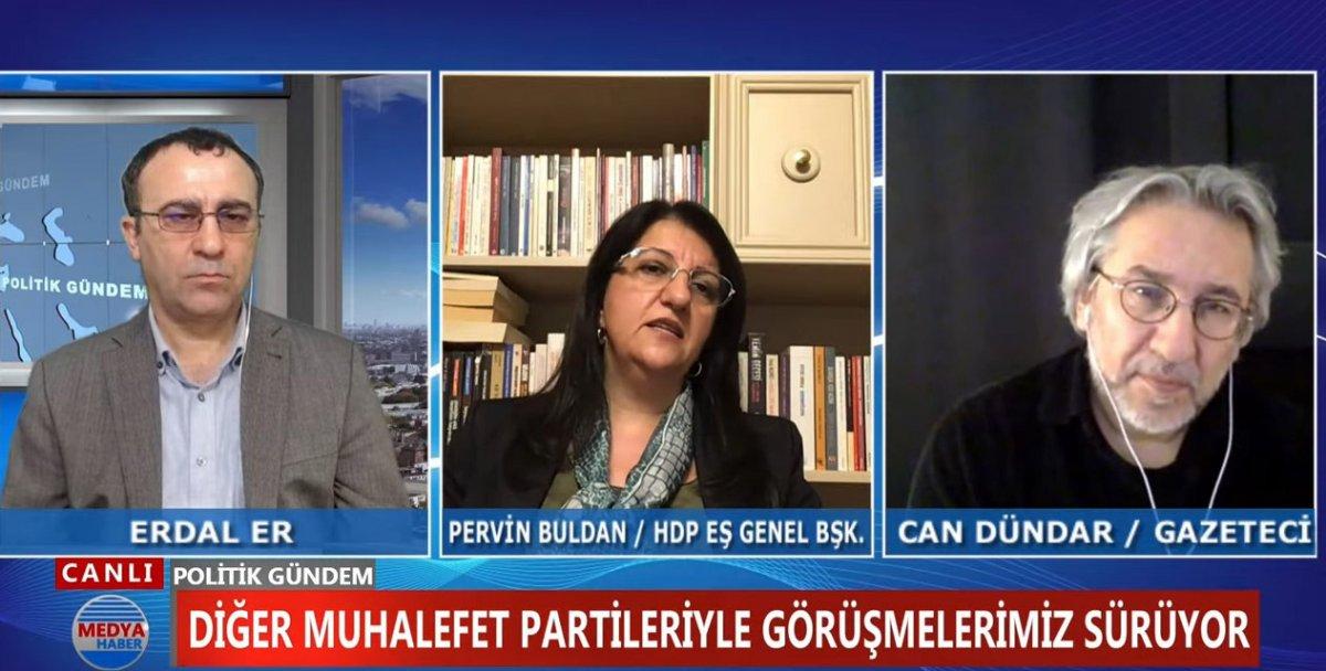 HDP li Pervin Buldan dan İYİ Parti ye: Demirtaş a terörist diyenle görüşmeyiz #1