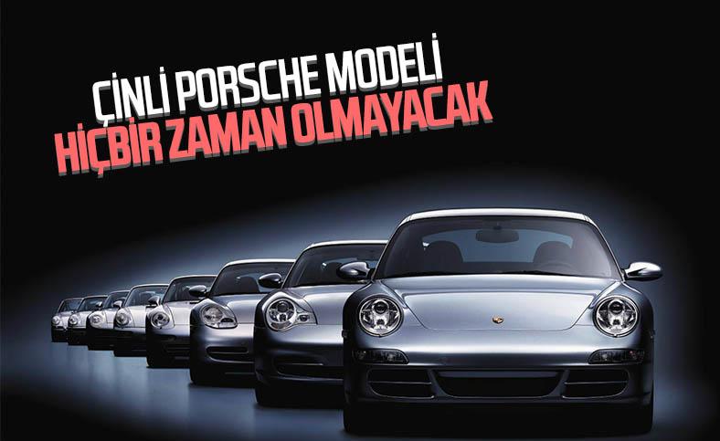 Porsche, Çin'de araç üretmeyeceğini açıkladı