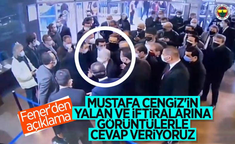 Fenerbahçe'den Galatasaray'ın iddialarına videolu cevap