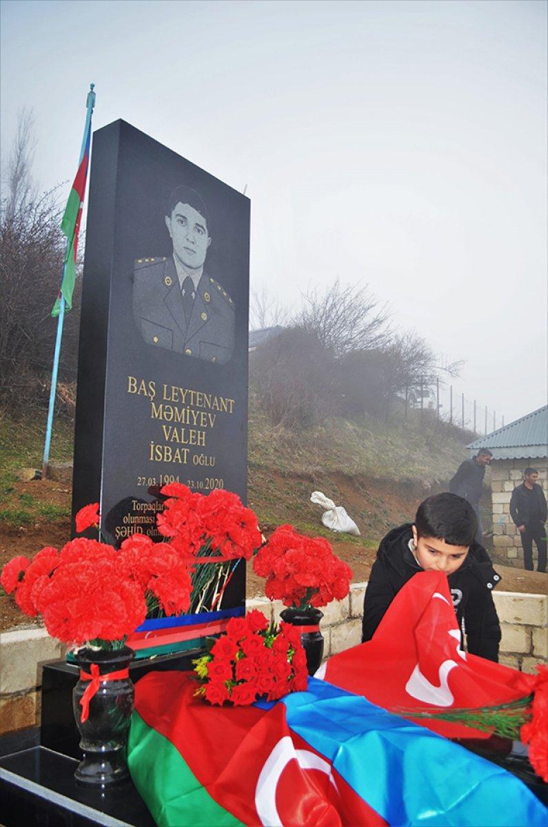 hulusi akar azerbaycanli sehit subayin ailesine mektup gonderdi 9037