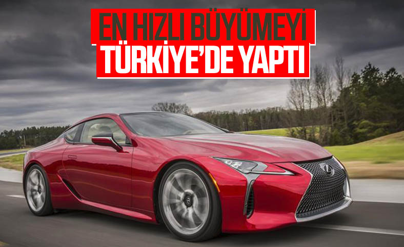 Lexus, 2020'de en hızlı büyümesini Türkiye'de kaydetti