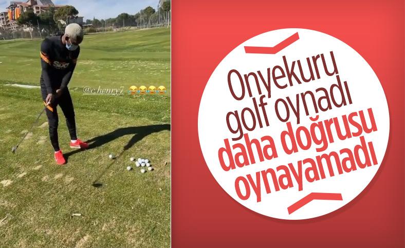 Onyekuru'nun golf ile imtihanı