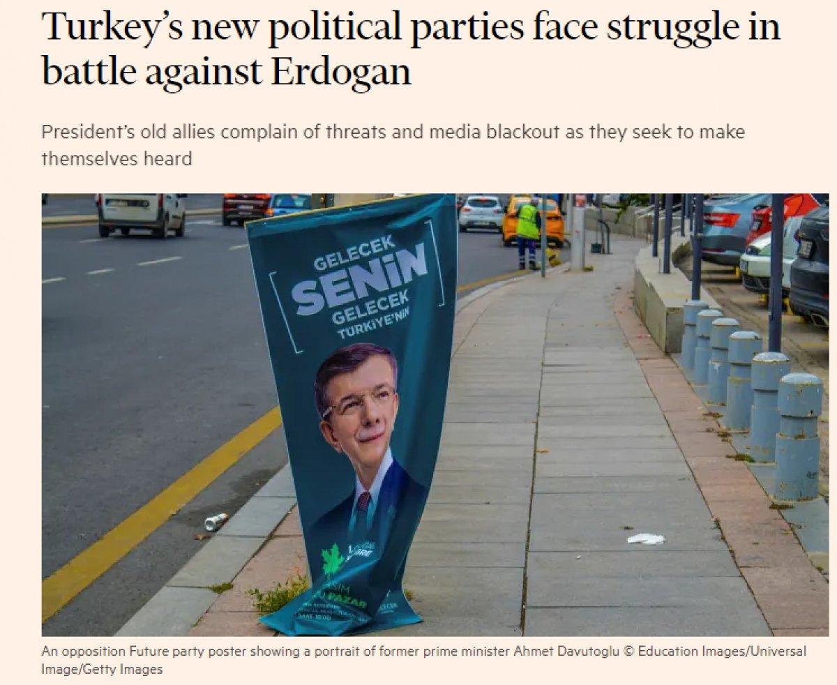 Financial Times, Ali Babacan ve Ahmet Davutoğlu nu yazdı #1