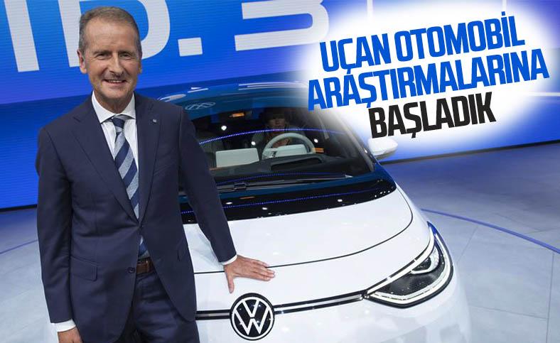 Volkswagen, uçan arabalarla yakından ilgileniyor