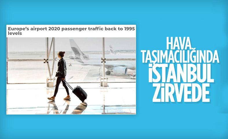Salgın dönemindeki yolcu trafiğinde en dayanıklı İstanbul