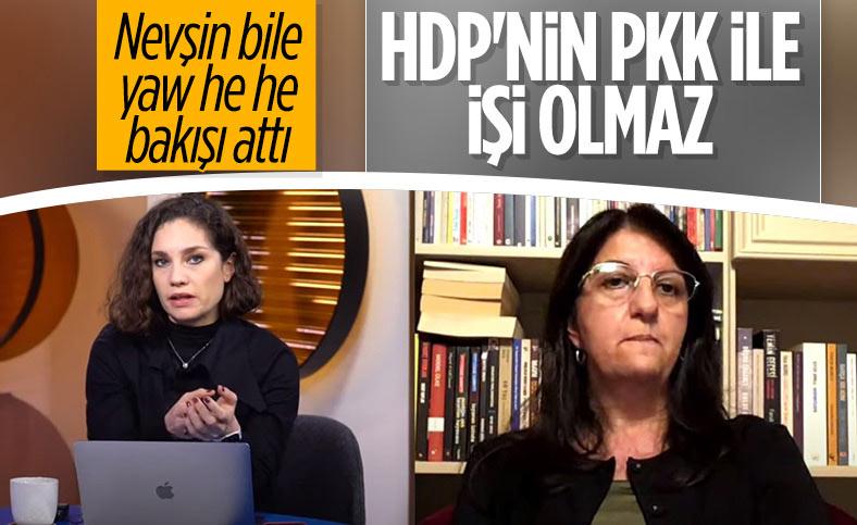 Pervin Buldan: HDP'nin PKK ile ilişkisi yok