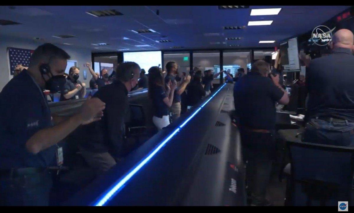 NASA kaşifi Mars a indi #3