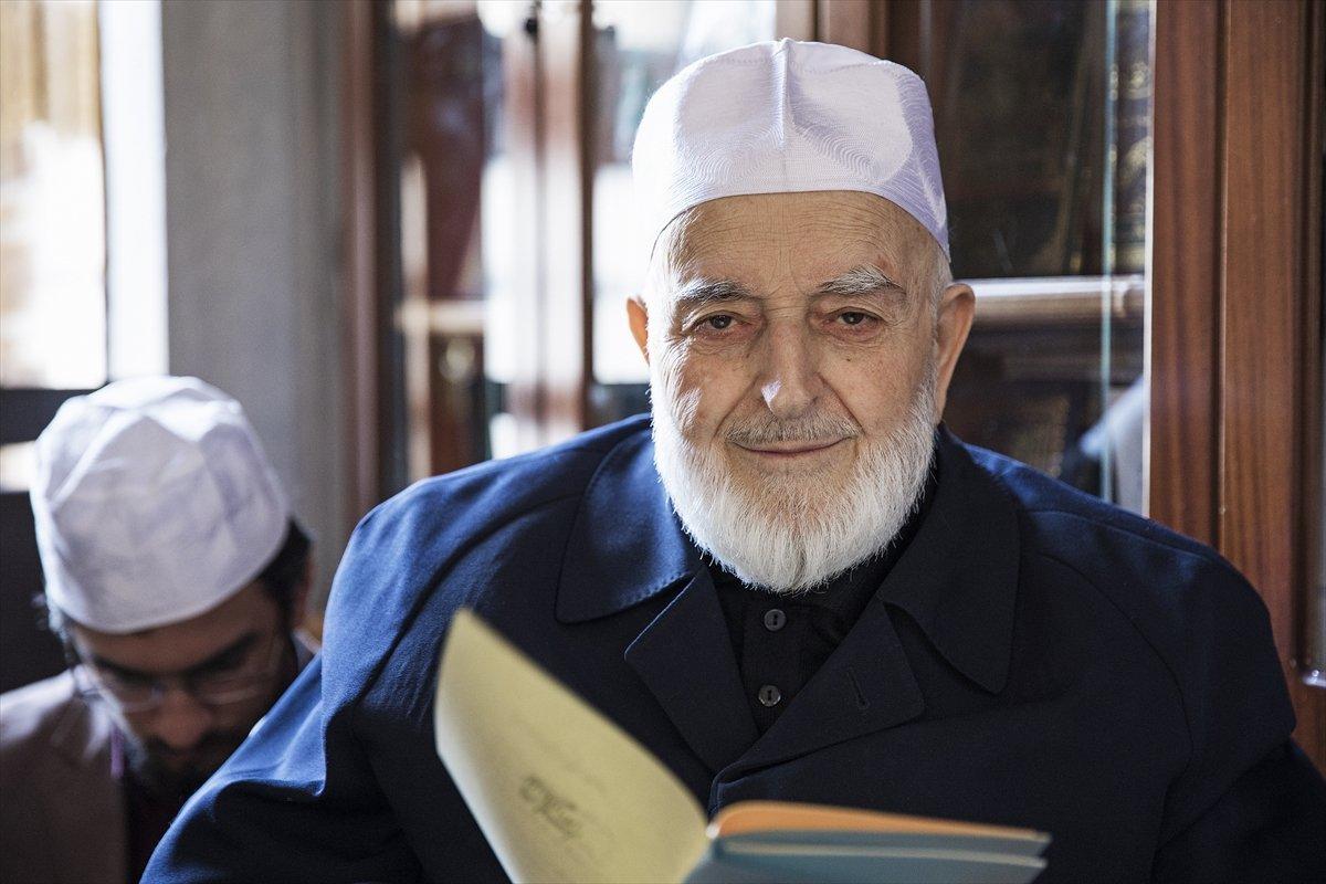 Hadis alimi Muhammed Emin Saraç vefat etti #2