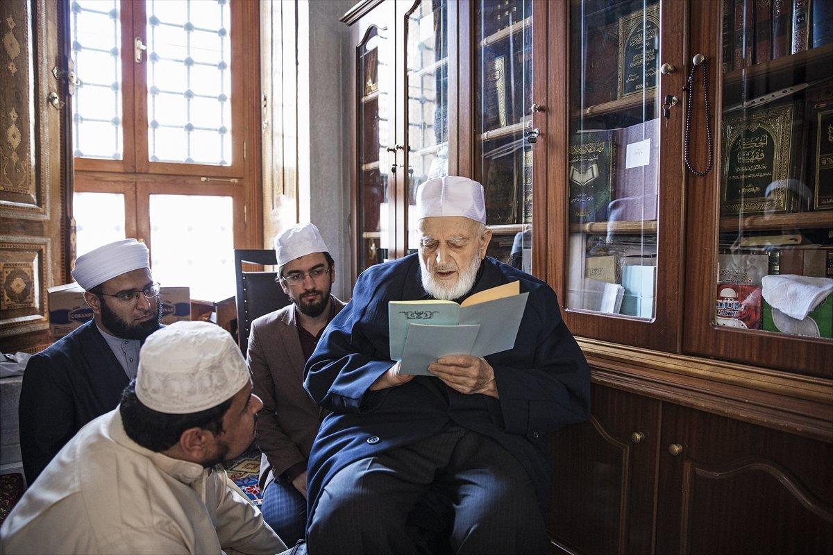 Hadis alimi Muhammed Emin Saraç vefat etti #5