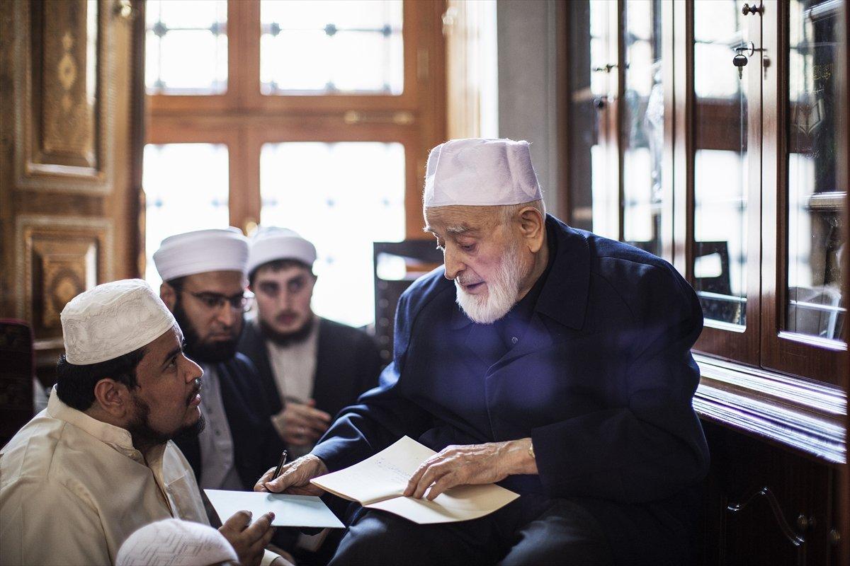 Hadis alimi Muhammed Emin Saraç vefat etti #3