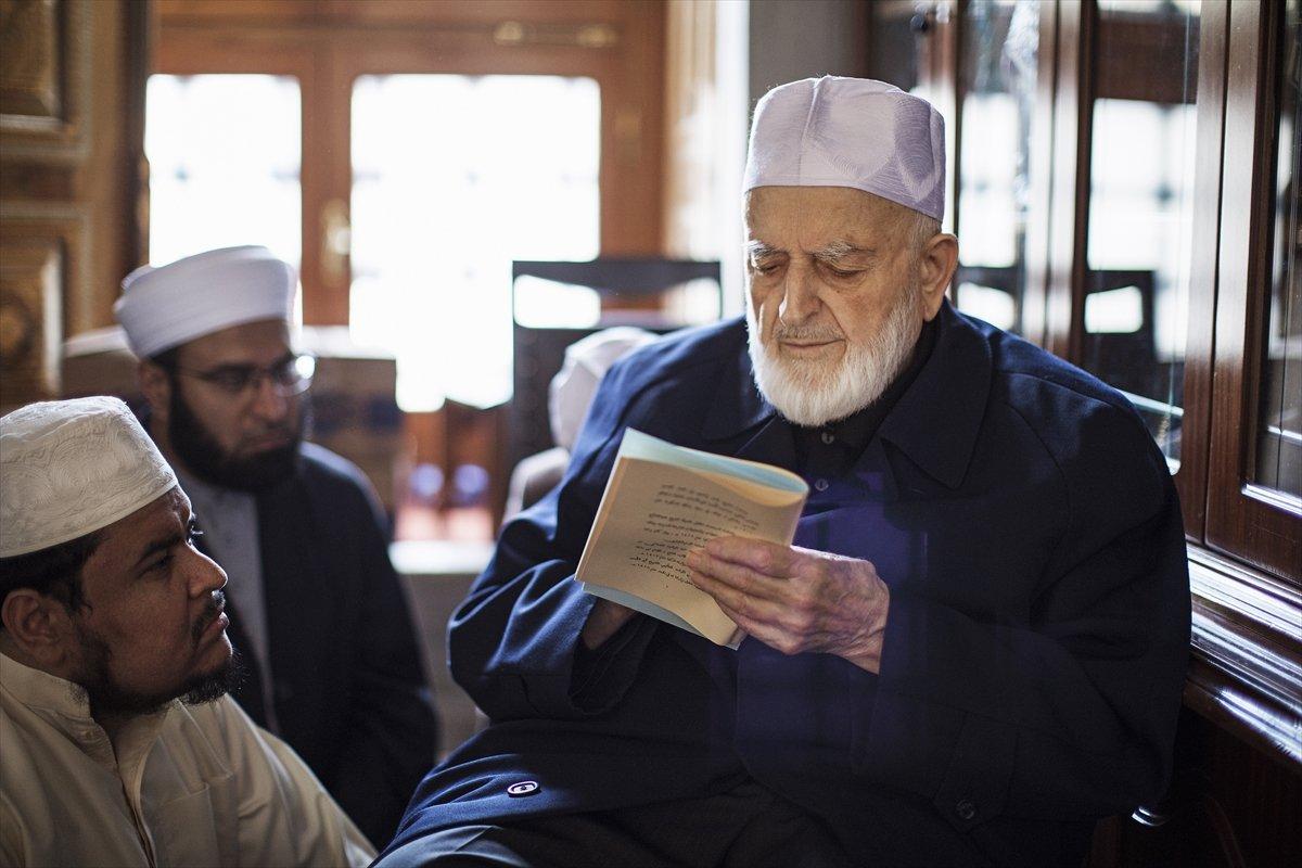 Hadis alimi Muhammed Emin Saraç vefat etti #4