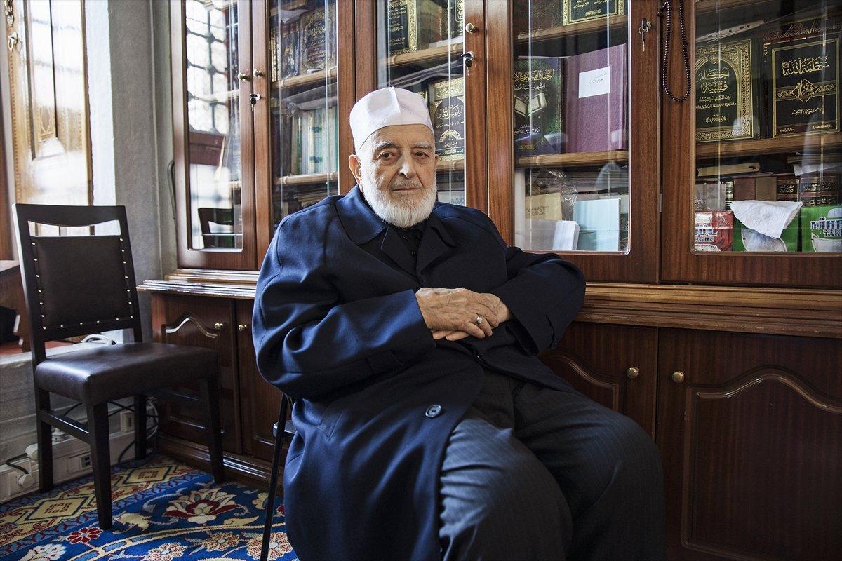 Hadis alimi Muhammed Emin Saraç vefat etti #6
