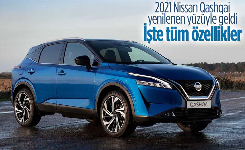 2021 Nissan Qashqai tanıtıldı: İşte özellikleri