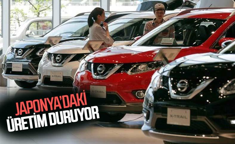 Nissan, Japonya'daki üretimi durdurma kararı aldı