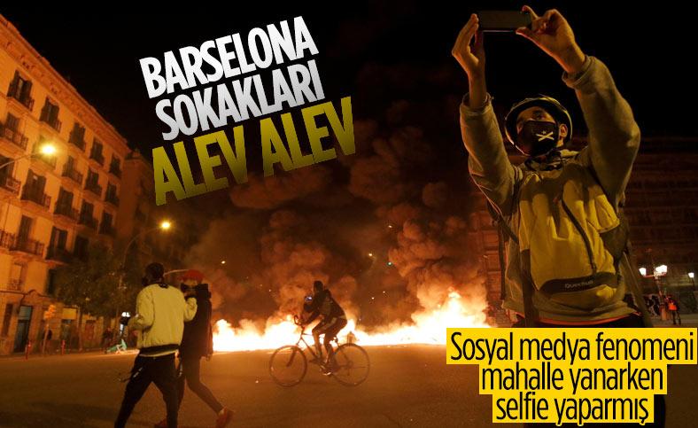 İspanya'da Pablo Hasel'e destek gösterilerinde olaylar çıktı