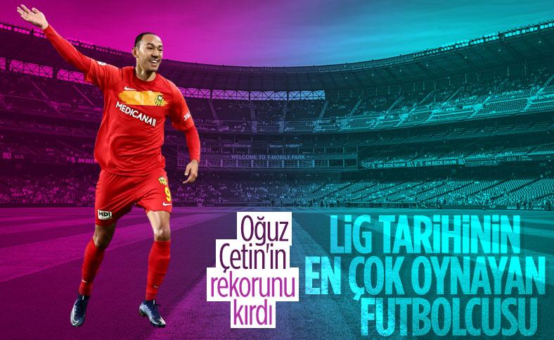 Süper Lig tarihinin en çok forma giyen futbolcusu Umut Bulut oldu
