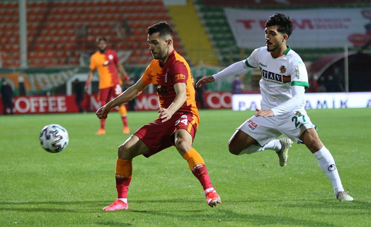 Galatasaray, Alanya dan 3 puanla döndü #1